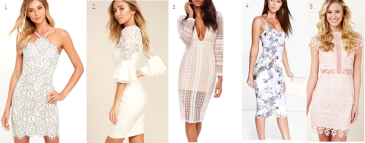 graduation dress revolve misguided boohoo lulus summer spring lace floral fashion fashion blogger fbloggger
