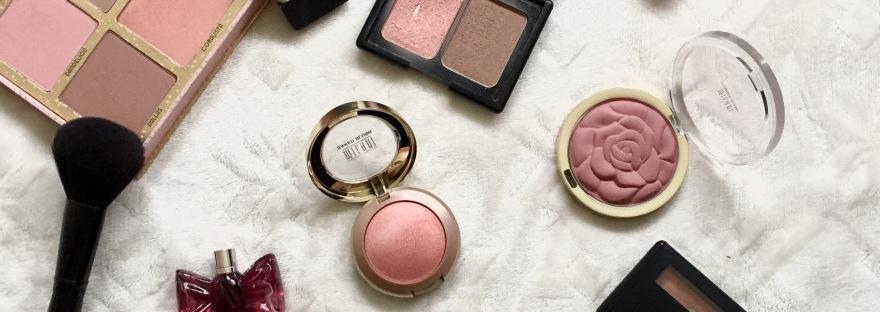 makeup blushes benefit elf milani mac nars