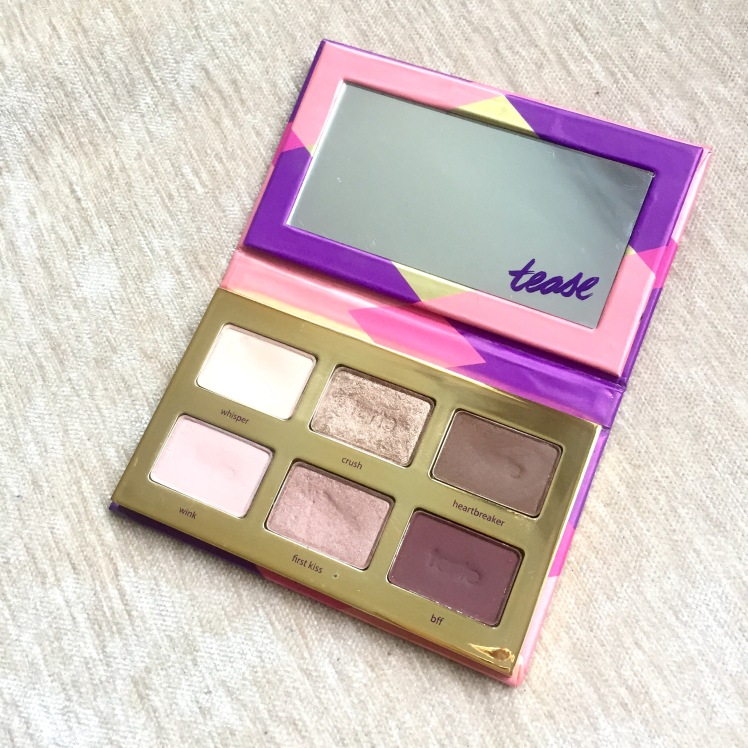 tarte tartelette tease palette sephora makeup beauty blogger review motd