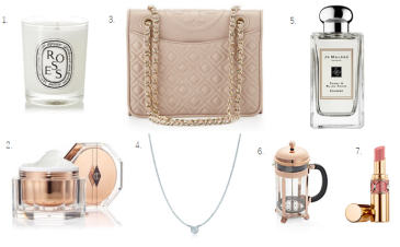 mothers day gift guide tory burch jo malone ysl tiffany