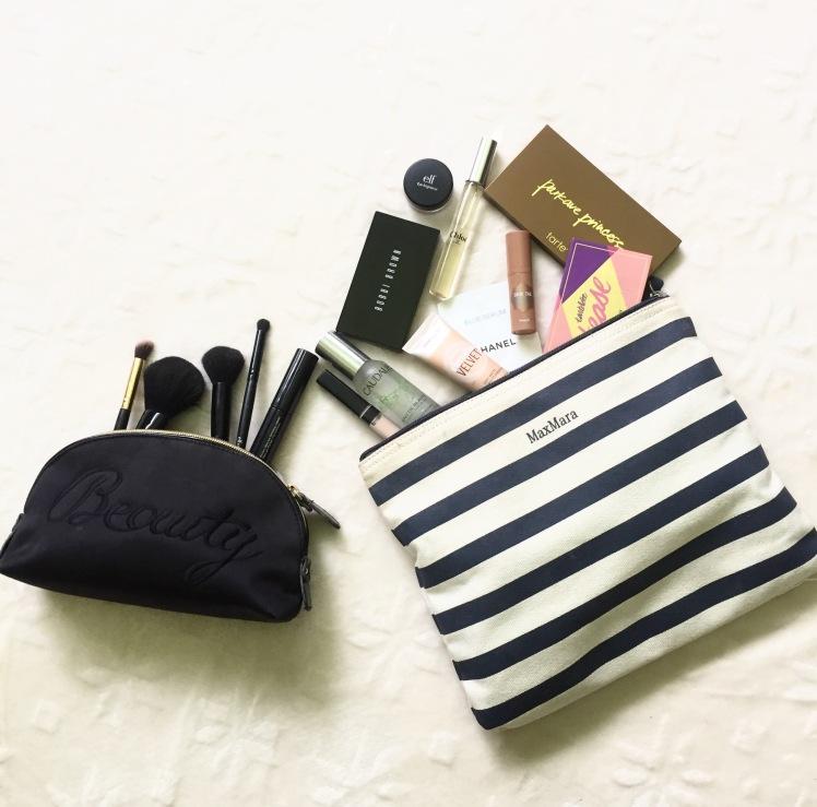 Travel makeup tarte too faced mua summer makeup vacation