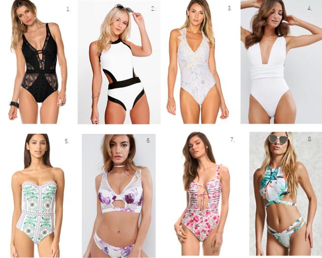 swimsuits summer 2017 fashion fashion blogger bathing suits