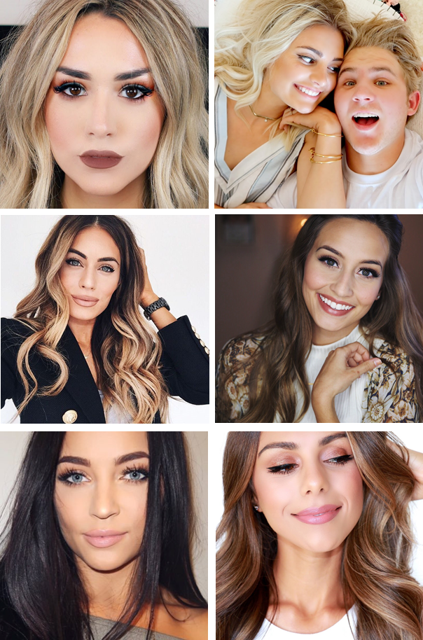 youtube alex garza aspyn ovard lydia elise millen stephanie ledda kristin lauria annie jaffrey beauty guru fashion style blogger