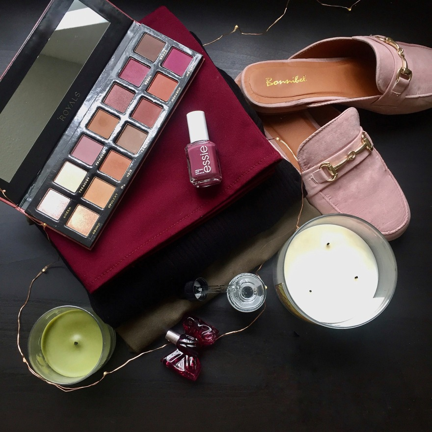 September favorites lulus fashion blogger abh Anastasia Beverly hill modern renaissance essie bath and body works