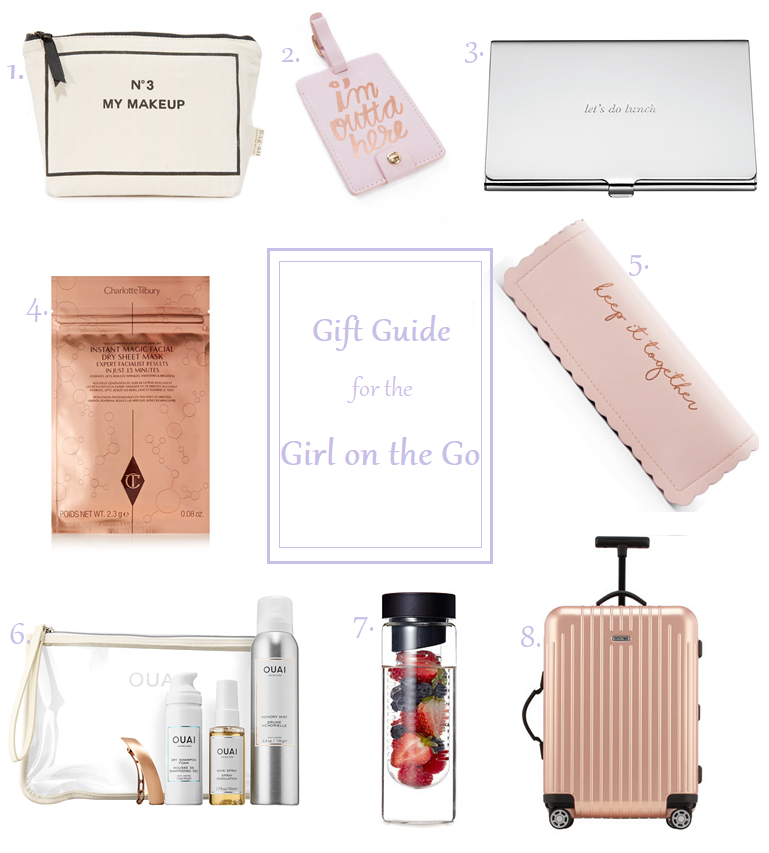 holiday christmas gift guide presents travel