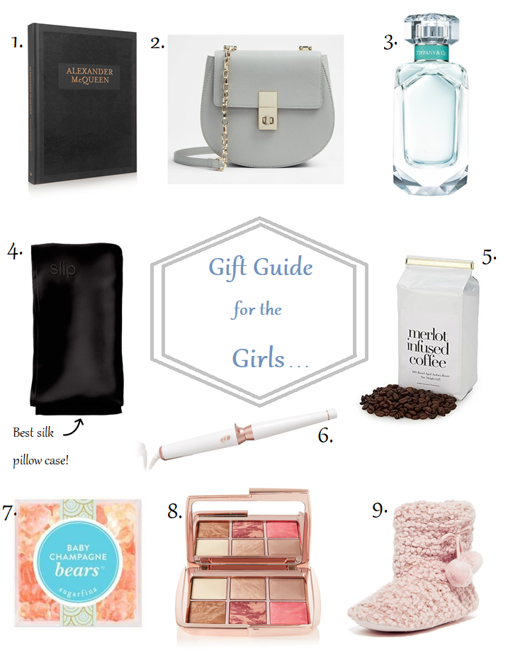 gift guide for women girls tiffany perfume christmas holidays presents