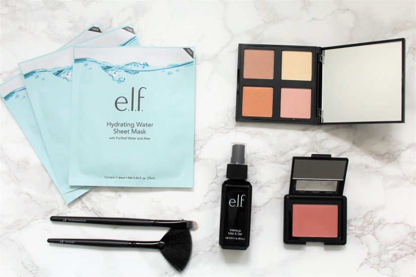 christmas gifts holidays elf cosmetics makeup haul tutorial beauty