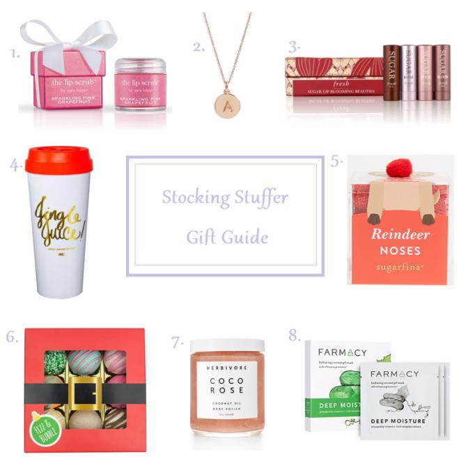 stocking stuffer gift guide holidays christmas